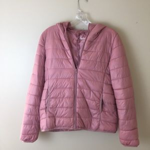 Ambiance Women's light quilted puffer jacket